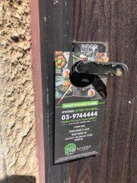 פרסום באמצעות תלי דלת